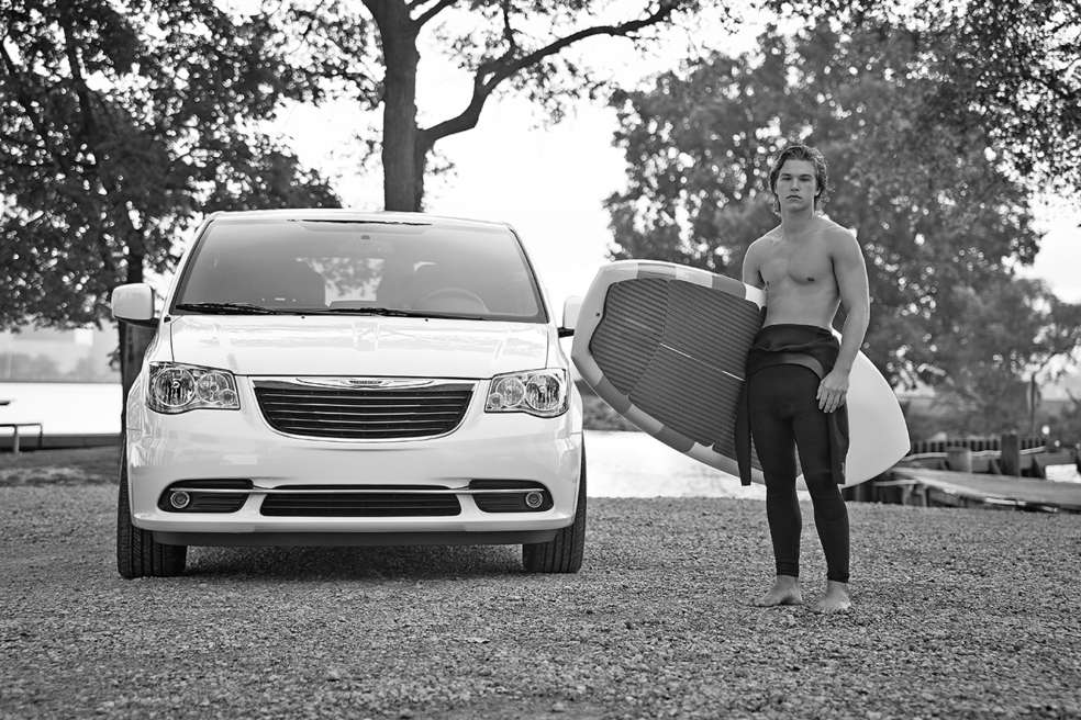 Sexy side of Chrysler Town and Country