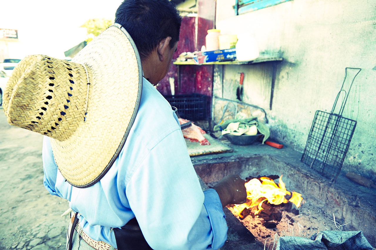 Popotla Fishing Village Mexico